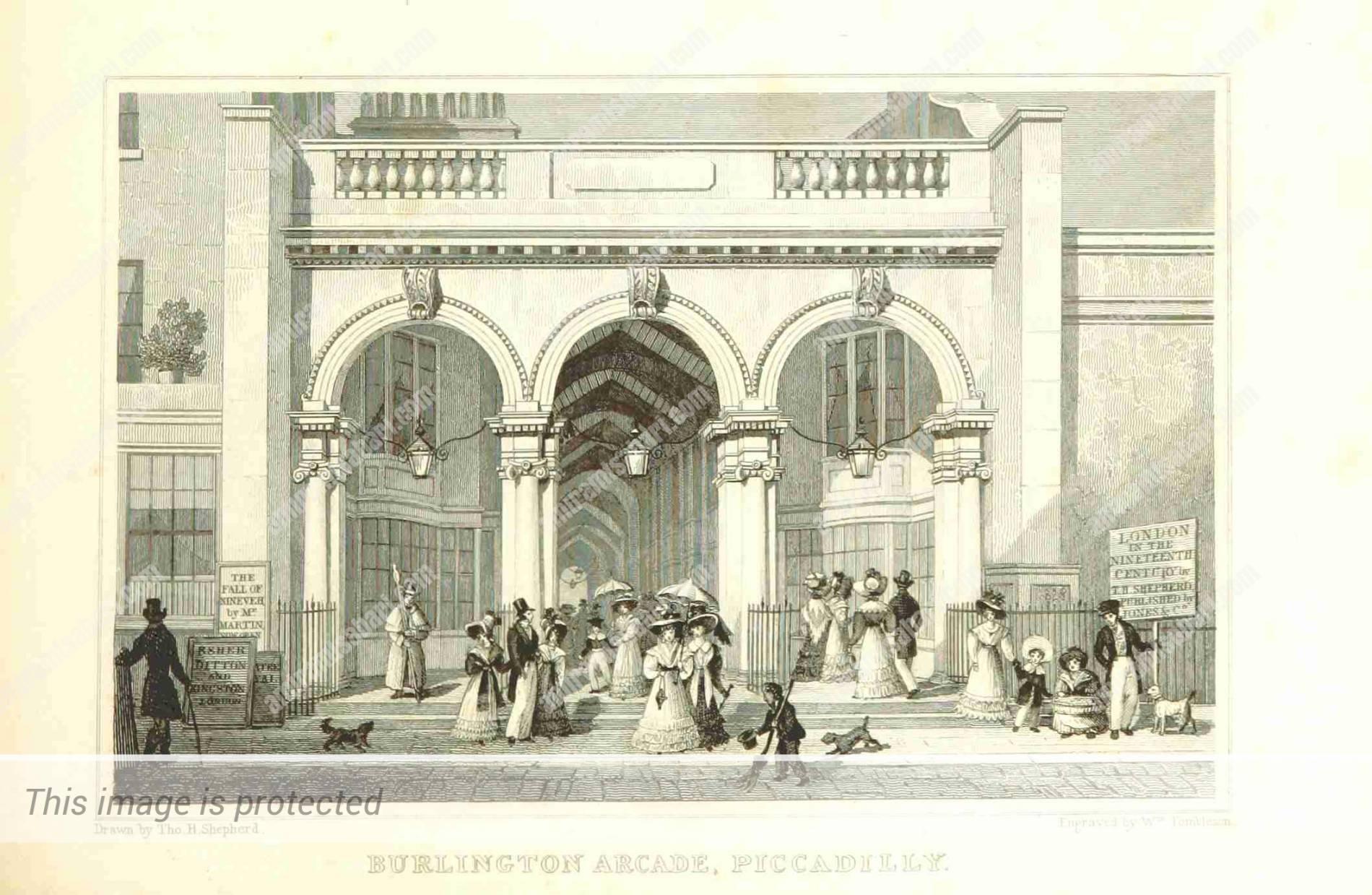 ברלינגטון ארקייד 1828
