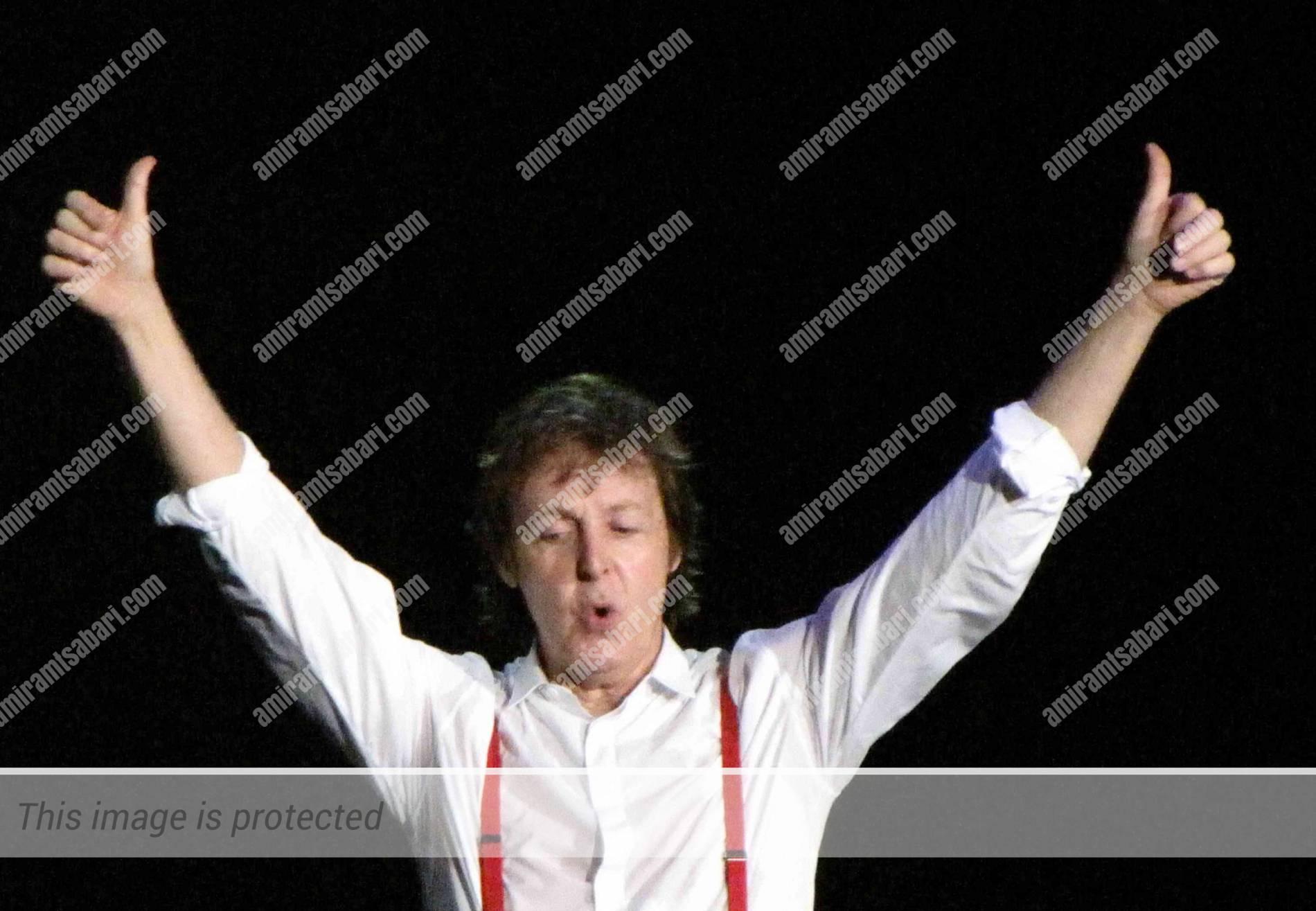 פול מקרטני - הקלות בברלינגטון ארקייד