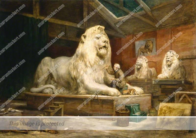אדווין לאנדסיר בסטודיו, ג'ון בלנטיין, 1865 © National Portrait Gallery, London