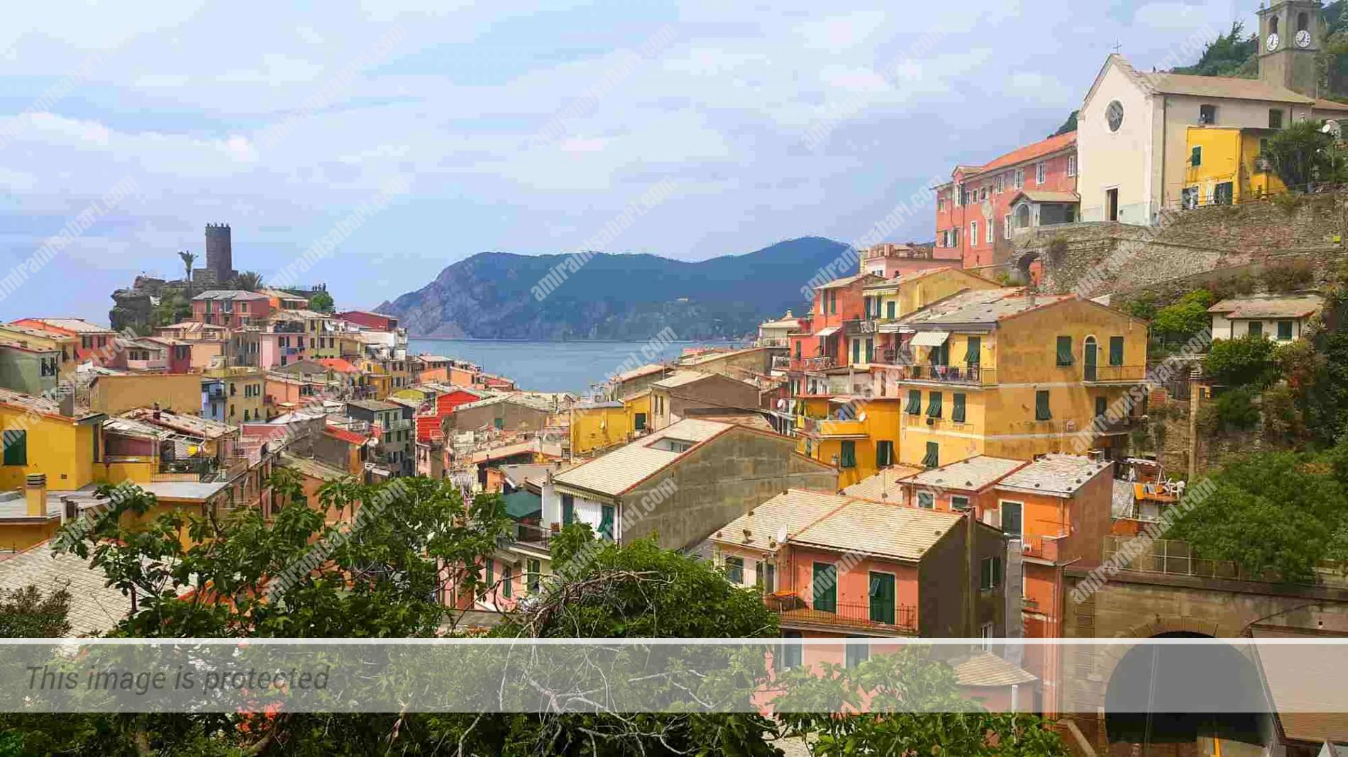 הרביעי מבין חמשת הכפרים, ורנאצה (vernazza)