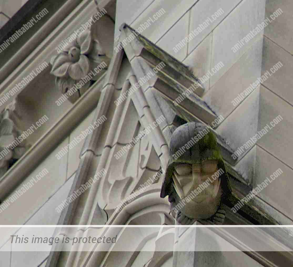דארת' ויידר בקתדרלה הלאומית של וושינגטון.
