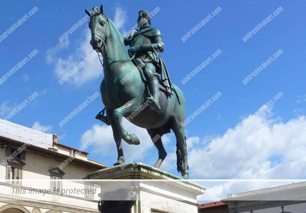 ג'אמבולוניה ופייטרו טאקה - פסל הרוכב של פרדיננדו ה-1