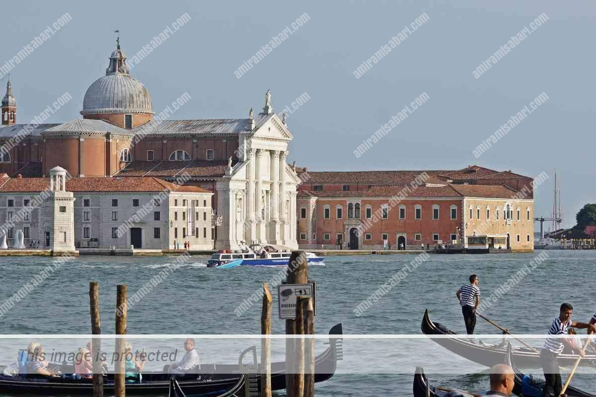 האי סן ג'ורג'ו מג'ורה שבלגונת ונציה.