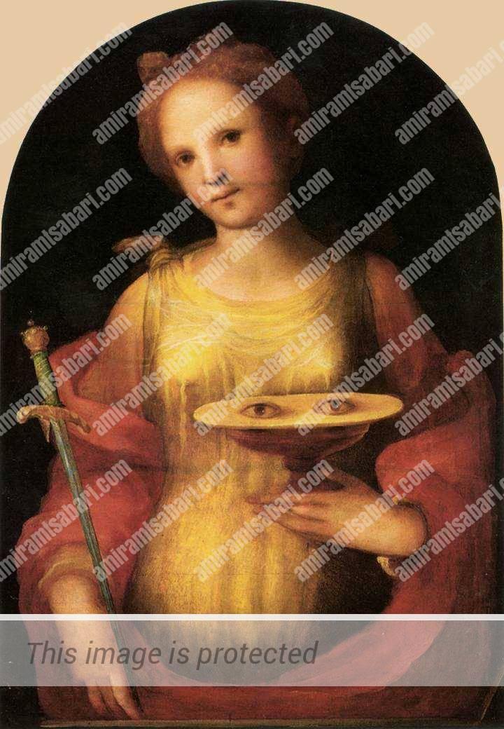 סנטה לוצ'יה, דומניקו בקפומי, 1521