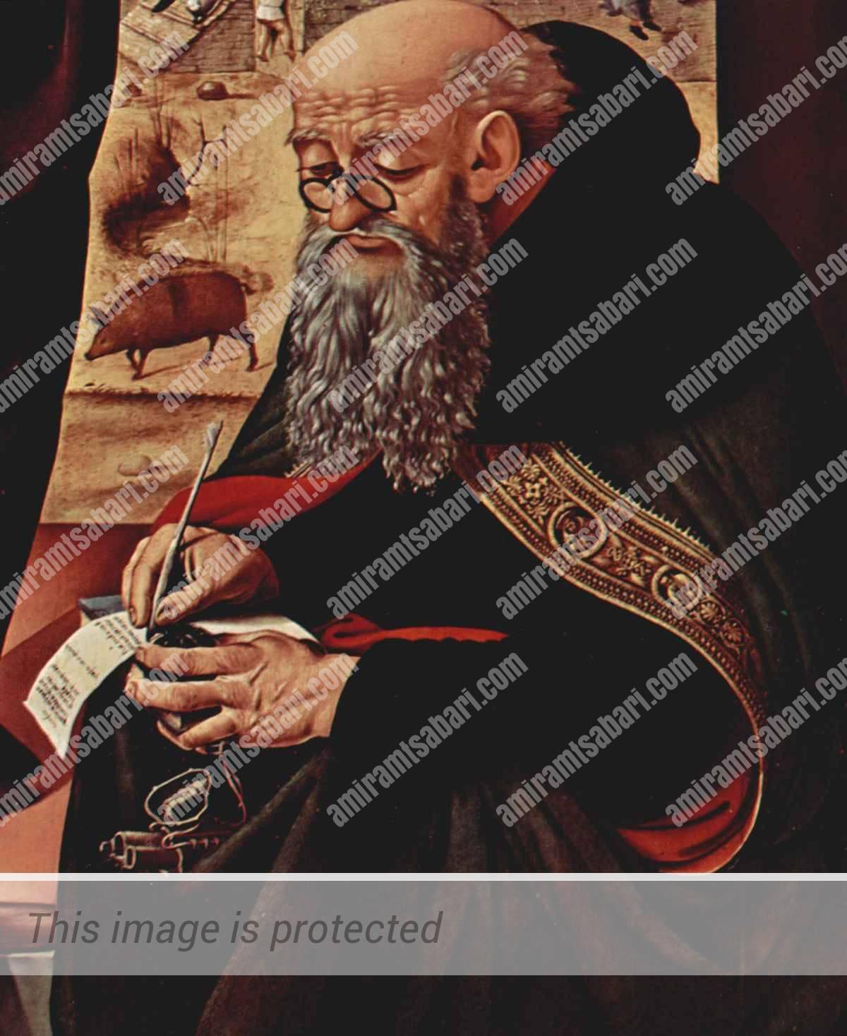 אנטוניוס הגדול אבי הנזירים,