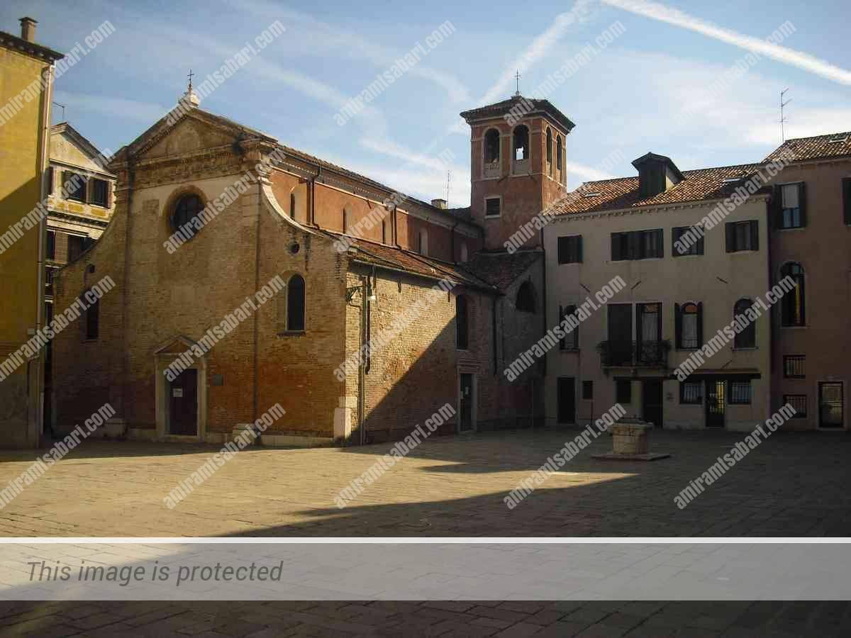 כיכר יוחנן המטביל הערוף, סנטה קרוצ'ה, ונציה.