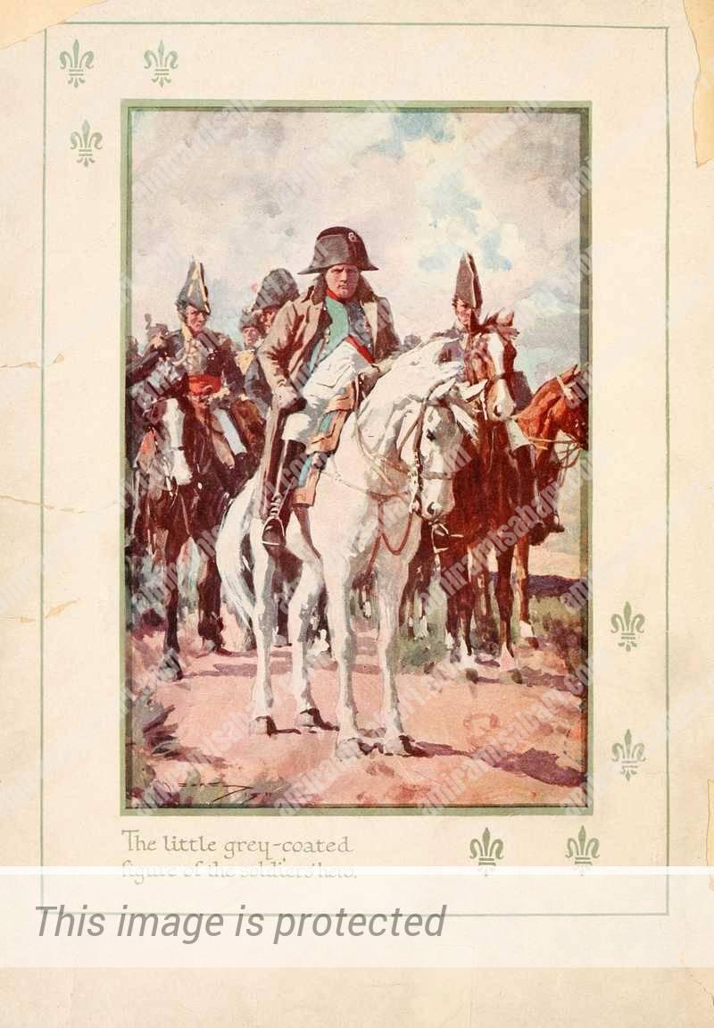 נפוליאון בונפרטה וחילותיו.
