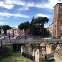 רומא פיאצה ונציה: האתנאום (Athenaeum) של הקיסר אדריאנוס