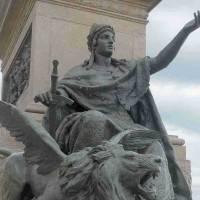 ונציה המושפלת והמנצחת – פסל הרוכב של ויטוריו עמנואל השני